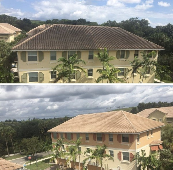 Coconut Creek, FL Roof Rleaning 1